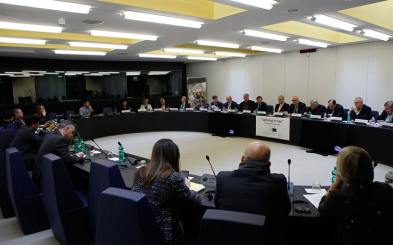 Free Iran Meeting- EP Lawmakers Support People Uprising