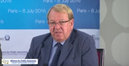 Struan Stevenson: Mullahs' regime is on its last legs, West needs to recognizing the opposition