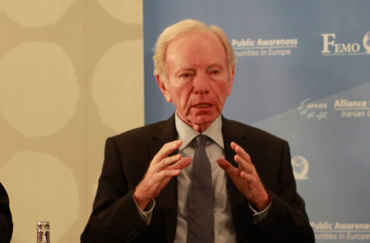 """Senator Joe Lieberman: """"nothing about Iran's behavior has changed in the couple of years since the Iran nuclear agreement was signed"""""""