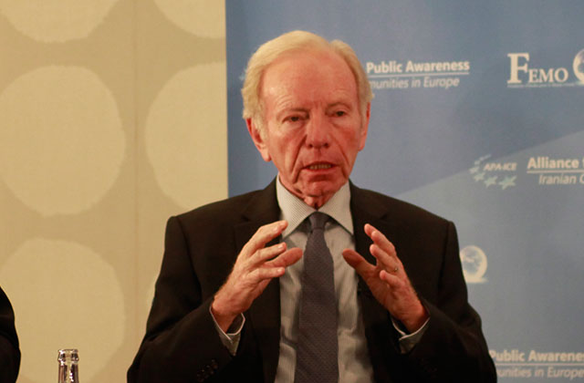 "Senator Joe Lieberman: ""nothing about Iran's behavior has changed in the couple of years since the Iran nuclear agreement was signed"""