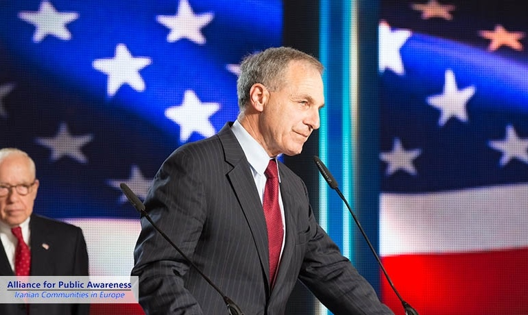 Louis Freeh lauds Maryam Rajavi as a beacon of hope