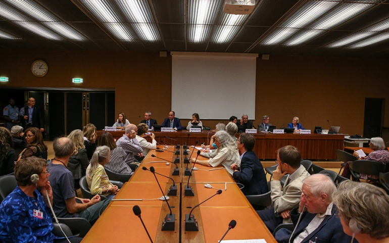 UN Geneva, 30th Anniversary of 1988 Massacre in Iran