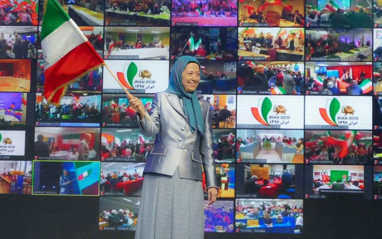 Global Video conferencing of representatives of Iranian communities in 42 cities