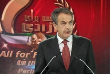 José Luis Rodríguez Zapatero-Paris, June-2014 – The Grand Gathering of Iranians