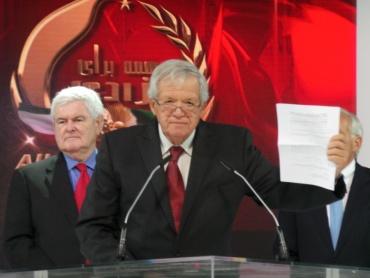 John Dennis Hastert -Paris, June 2014 – The Grand Gathering of Iranians