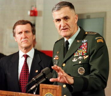 """General Hugh Shelton, Former chairman of the Joint Chiefs of Staff: """"Why Tehran must be denied a nuclear bomb"""""""