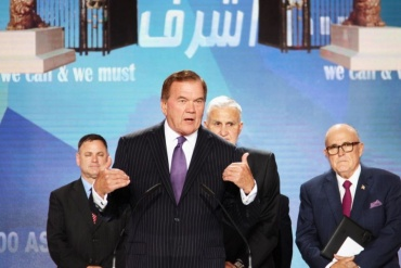 """Governor Tom Ridge: """"America's moral responsibility to those trapped at Camp Liberty"""""""