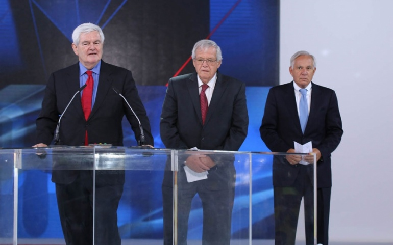 Newt Gingrich -Paris, June 2014 – The Grand Gathering of Iranians