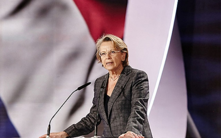 French Minister Michèle Alliot-Marie: We need Iran to establish more progress and stability