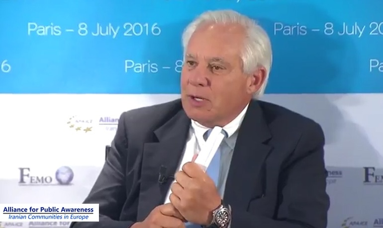 Robert Torricelli: It is impossible to reach an accommodation on middle ground with Iran