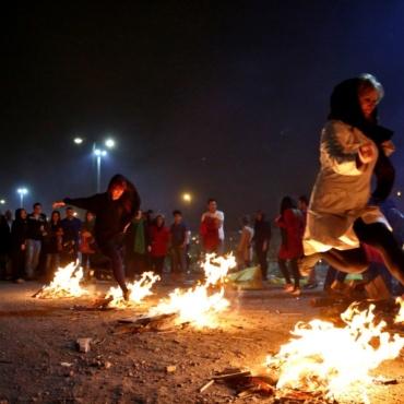Iran Chahārshanbe Suri Fire Festival