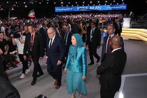 Free Iran – The Alternative, Gathering – Villepinte, Paris 2018