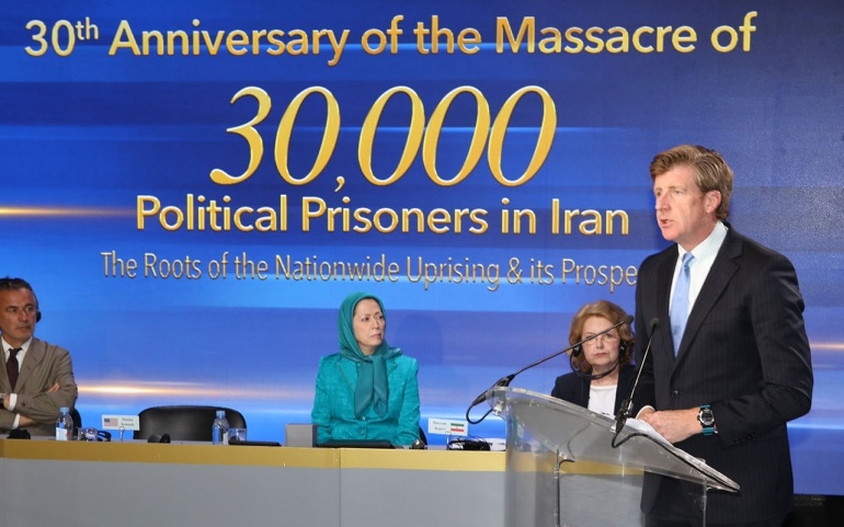 Patrick Kennedy: MEK Has Been on the Side of Freedom Whether Fighting the Oppression of the Shah or Regime of the Mullahs in Iran
