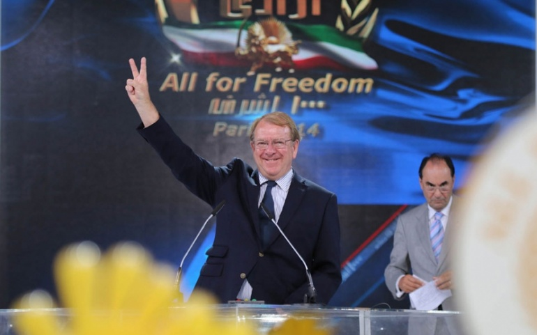 Struan Stevenson -Paris, June-2014 – The Grand Gathering of Iranians