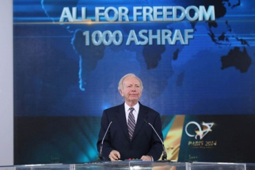 Joseph Lieberman-Paris, June 2014 – The Grand Gathering of Iranians