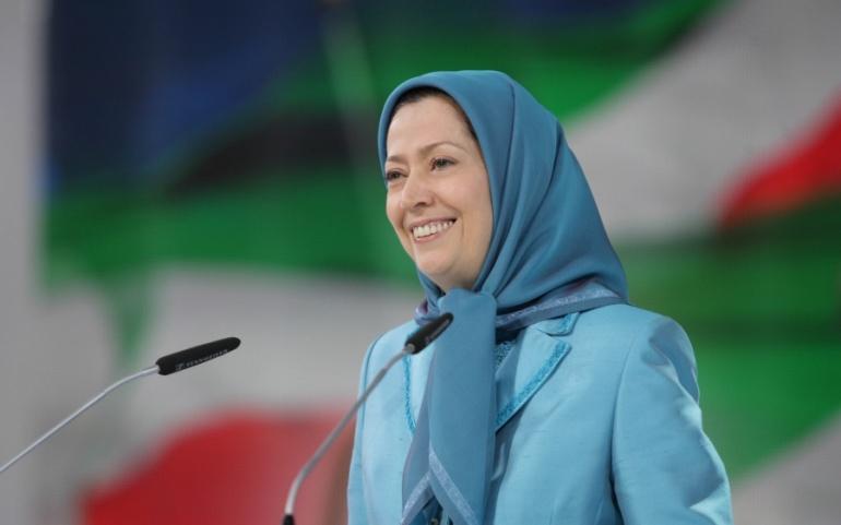 Maryam Rajavi – Paris, June-2014 – The Grand Gathering of Iranians