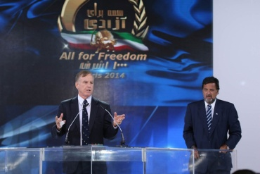 Howard Dean-Paris, June-2014 – The Grand Gathering of Iranians