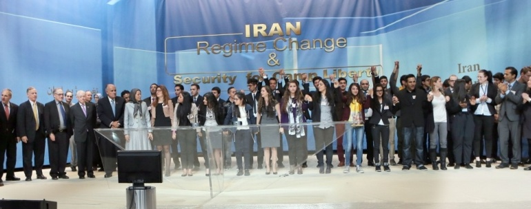 Convention of Iranian youth associations in Paris