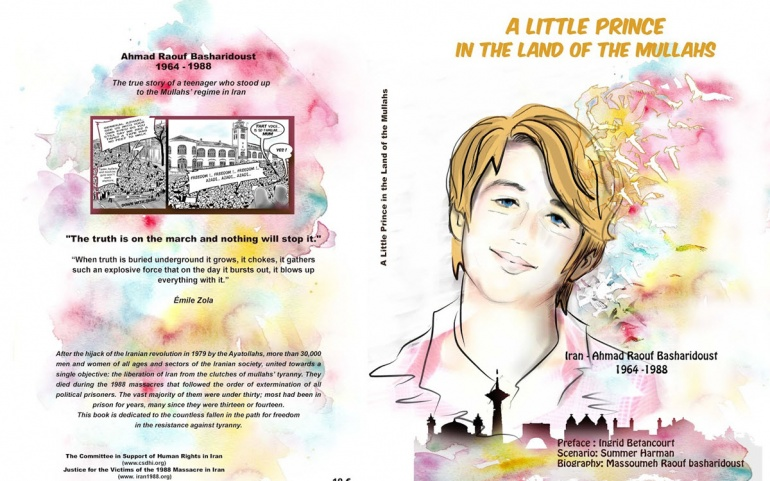 A New Graphic Novel – a Little Prince in the Land of the Mullahs