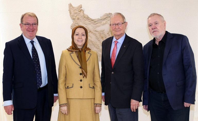 MEPs Meet With Maryam Rajavi