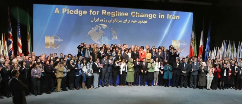 Convention of Iranian Communities for Democracy call for regime change – Paris