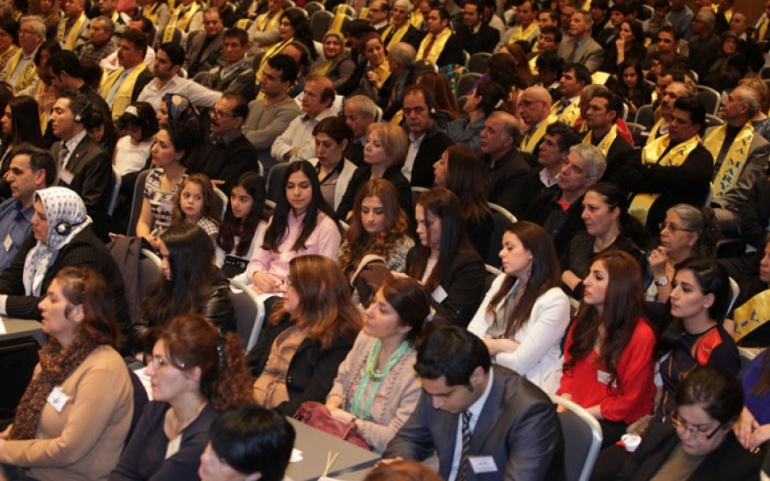Delegates from 60 Iranian Associations of Nordic Countries in Oslo Gathering