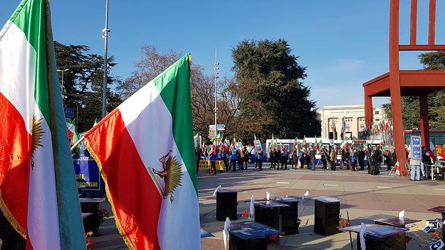 Free Iran Rally – UN – Place des Nations – Geneva