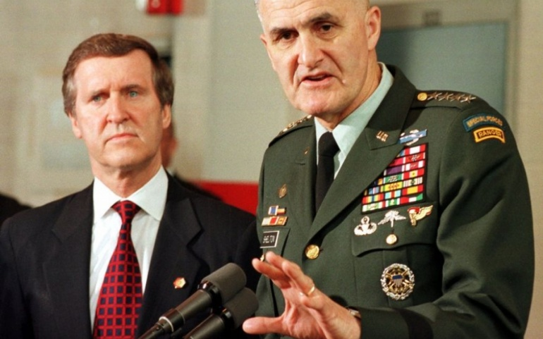 "General Hugh Shelton, Former chairman of the Joint Chiefs of Staff: ""Why Tehran must be denied a nuclear bomb"""