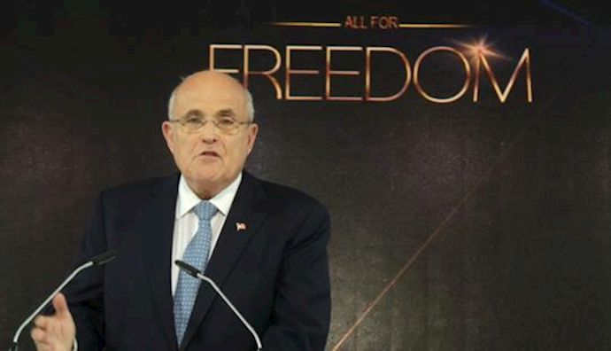Speech by Rudy Giuliani Former Mayor of New York City at Paris gathering of Iranians for democratic Change, June 27, 2014
