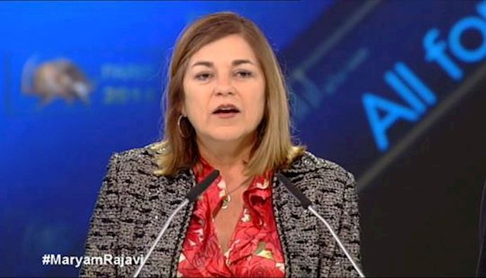 Speech by Congresswoman Loretta Sanchez at Paris gathering for democratic change in Iran – June 2014
