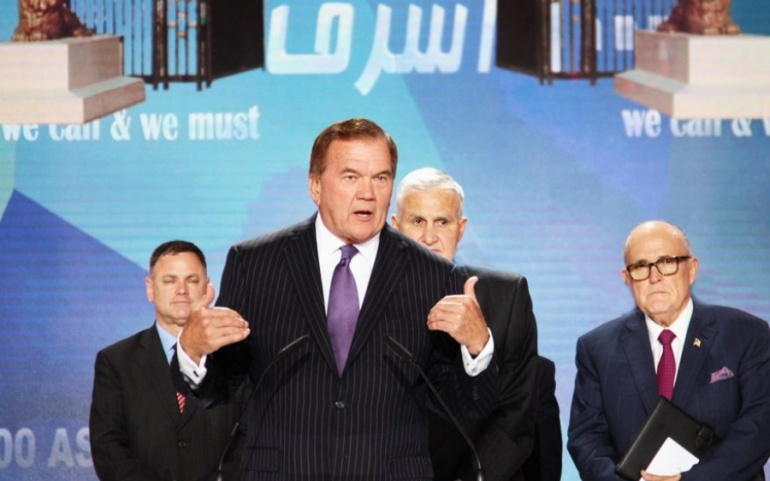 "Governor Tom Ridge: ""America's moral responsibility to those trapped at Camp Liberty"""
