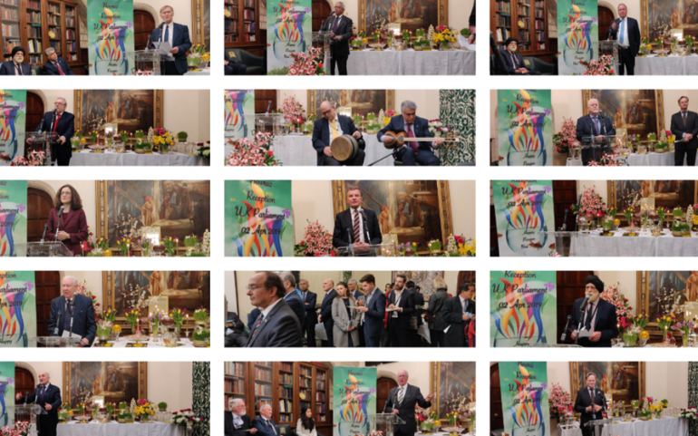 Iran New Year Celebration Held in British Parliament