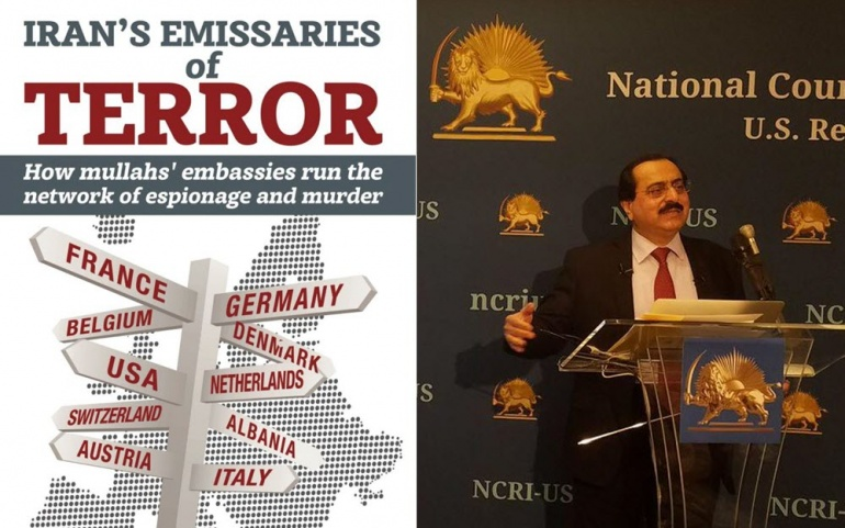 Press Briefing to Expose Iran's Emissaries of Terror, How mullahs' embassies run the network of espionage and murder