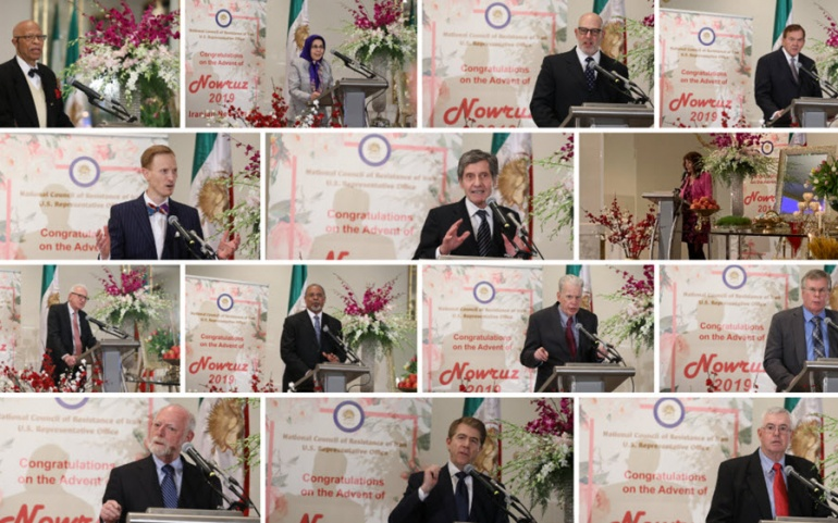 NCRI New Year Gathering in Washington DC Calls for Firm US Policy on Iran