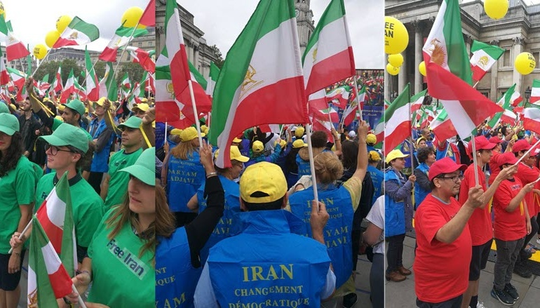 Live Coverage: Major Free Iran Rally Today in London