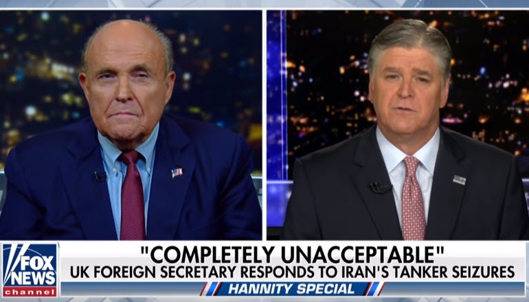 MEK is the alternative to Iran's regime, Rudy Giuliani tells Hannity on FOX NEWS
