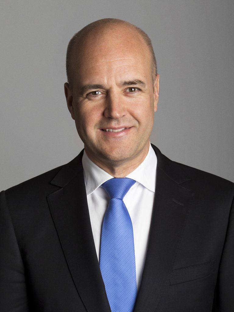 Fredrik Reinfeldt,  at the World Summit 2021 on 12 July 2021